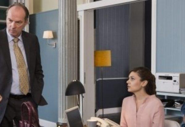"""Sendetermin """"Die Kanzlei"""" ist wieder da! Sabine Postel und Herbert Knaup sind ab 29. November 2016 in sieben neuen Folgen wieder als Anwälte der kleinen Leute im Einsatz"""