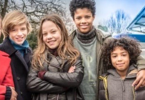 DIE PFEFFERKÖRNER: Neue Generation junger Detektive steht in Hamburg vor der Kamera