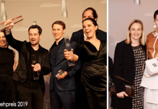 Deutscher Fernsehpreis 2019: Die LETTERBOX FILMPRODUKTION nimmt dreifach Deutschen Fernsehpreis 2019 entgegen