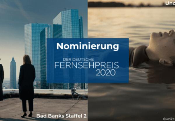 Deutscher Fernsehpreis 2020: BAD BANKS und UNORTHODOX jeweils dreifach für Deutschen Fernsehpreis 2020 nominiert