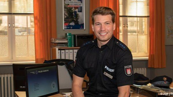 NOTRUF HAFENKANTE: Neuzugang Raúl Richter dreht für das ZDF