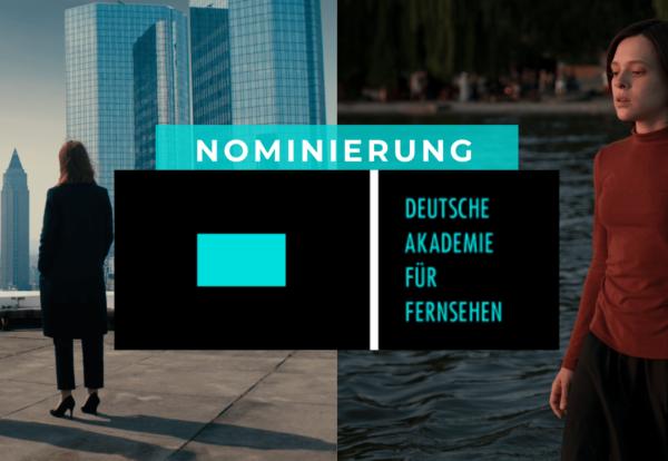 Deutsche Akademie für Fernsehen 2020: Sechs Nominierungen für die Studio Hamburg Production Group