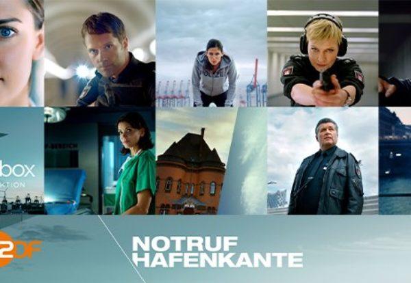 Programmhinweis: Staffelstart mit neuen Folgen der ZDF-Serie NOTRUF HAFENKANTE