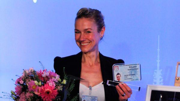 Schauspielerin Rhea Harder-Vennewald ist Ehrenkommissarin 2021