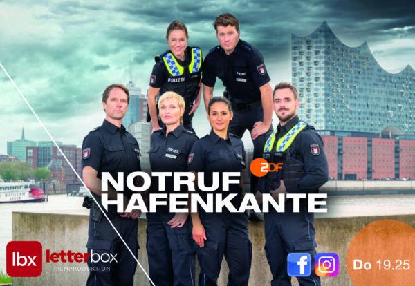Staffelstart mit neuen Folgen der ZDF-Serie NOTRUF HAFENKANTE